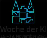 Woche der Künstlichen Intelligenz Logo mit Datum